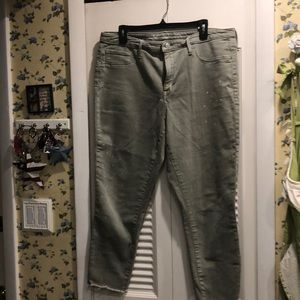 Mossimo jegging crops